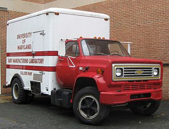 Box truck - Chevrolet box truck
