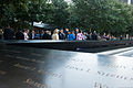 Chief of Staff of the U.S. Army Gen. Raymond T. Odierno, U.S. Army four-star generals and their spouses visit the 9-11 memorial where the names of the victims killed during the attacks of Sept 140904-A-NX535-012.jpg
