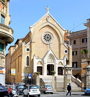 SantAlfonso di Liguori Church in Rome, Italy