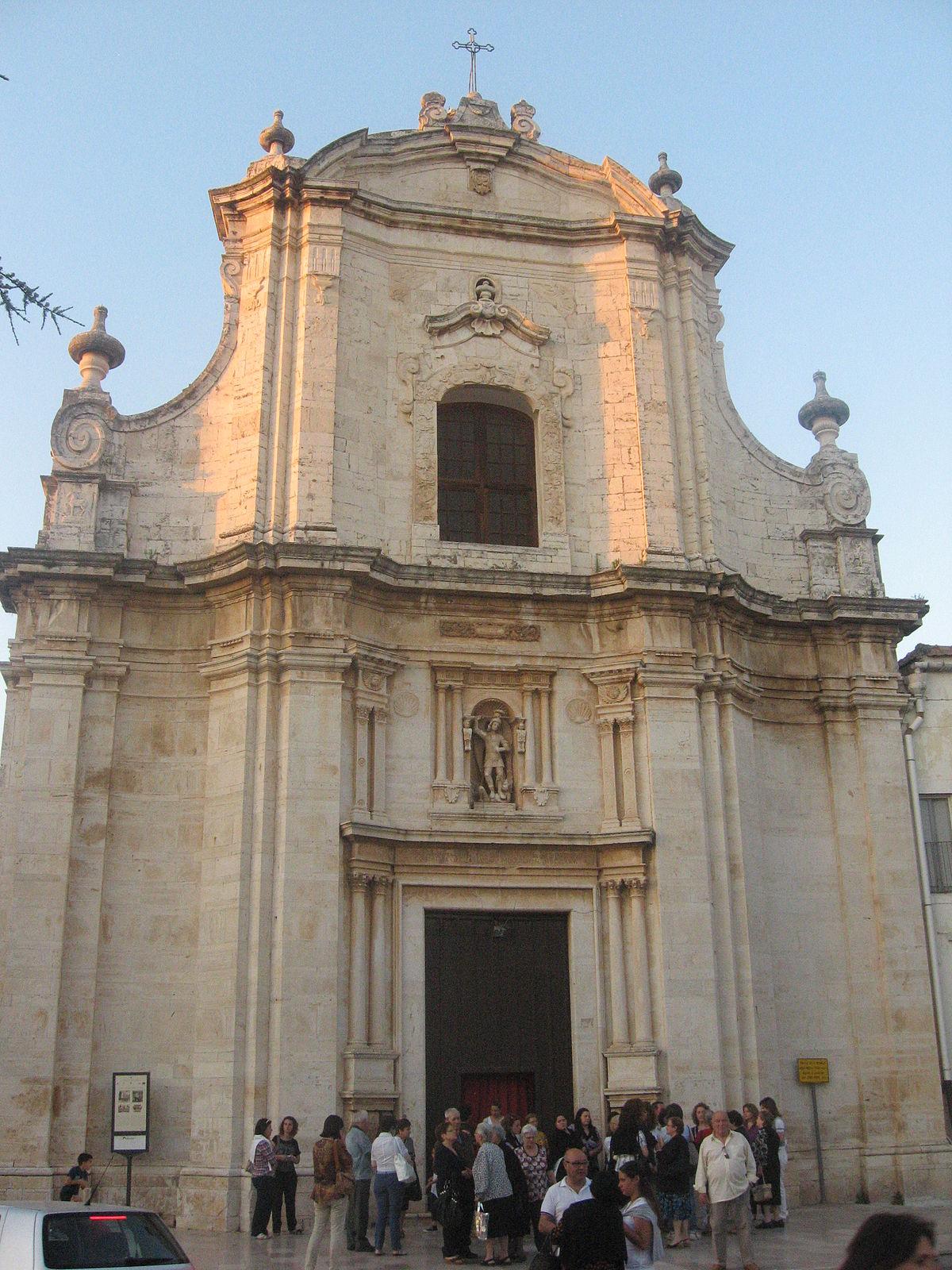 chiesa  san michele arcangelo ruvo  puglia wikipedia
