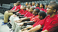 Children involved with the Albany Young Marines Program graduated Young Marines boot camp after a non-stop training regimen.jpg