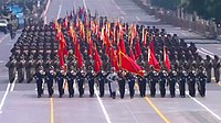 China Announces Troop Cuts at WWII Parade (screenshot) 2015917235849.JPG
