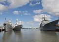 Chinese ships visit Pearl Harbor-Hickam 130906-N-ZK021-005.jpg