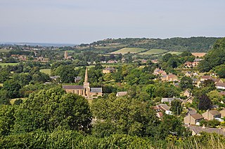 Chiselborough Human settlement in England