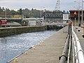 Chittenden Locks east entrance to small lock.jpg