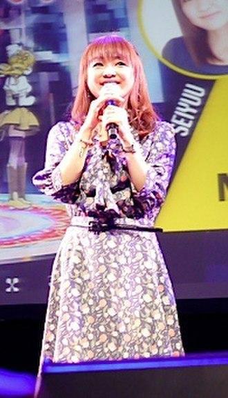 Chiwa Saitō - Chiwa Saito at the Anime Festival Asia 2011 Stage Events in Singapore