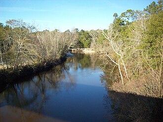Choctawhatchee River - Near Daleville, Alabama