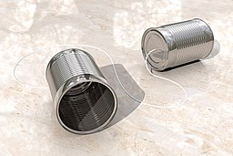 Chris Potter - 3D Tin Can Phones