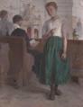 Christian Landenberger - In der Dießener Kirche, 1910.png