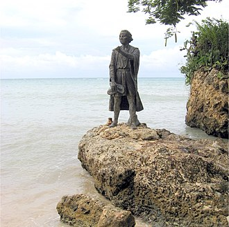 Holguín Province - Statue of Christopher Columbus near Guardalavaca