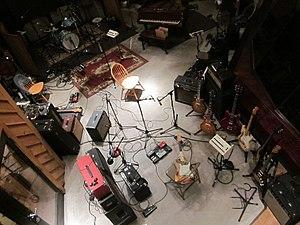 Chuck Hammer - Chuck Hammer, recording rig 2015 Applehead Studios Woodstock, NY