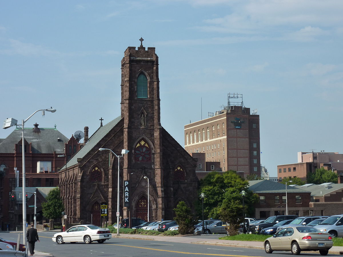 st patrick st anthony church hartford connecticut
