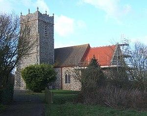 Gosbeck - Image: Church of St Mary, Gosbeck geograph.org.uk 672608