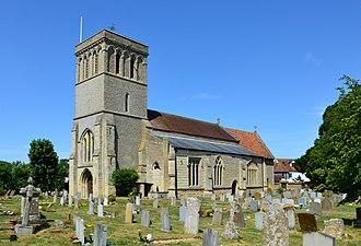 Haddenham, Buckinghamshire - St Mary's Church, Haddenham