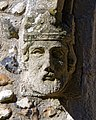 Church of St Mary the Virgin, Sheering, Essex ~ porch label stop depicting Henry VII.jpg
