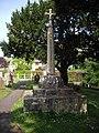 Churchyard cross, Chapel Allerton (geograph 2381453).jpg