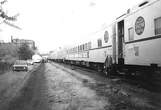 Circus train - Image: Circus Train 1084.agr