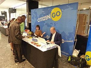 World Congress of Families - Image: Citizen Go (2)
