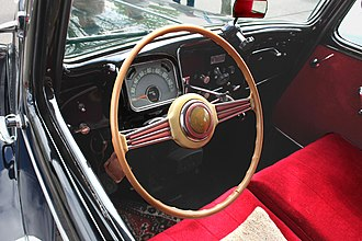 Citroën Traction Avant - Dashboard of TA Commerciale from 1954