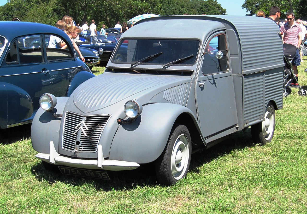 Sehr Citroën 2CV fourgonnette - Wikiwand PI87
