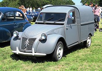 PSA Vigo Plant - Citroën 2CV minivan