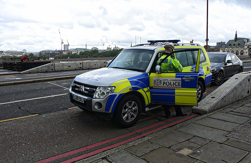 City of London Police Mitsubishi