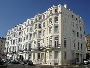 Grade II listed buildings in Brighton and Hove: C–D - Image: Clarendon Terrace, Kemp Town (Io E Code 480515)