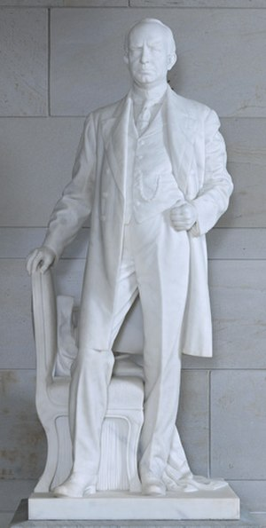 James Paul Clarke (Coppini) - The sculpture in the National Statuary Hall Collection