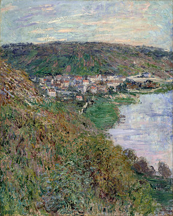 Claude Monet - View of Vétheuil - Google Art Project