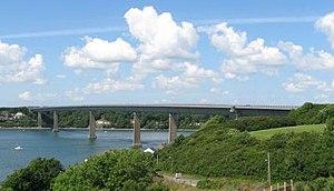 Cleddau Bridge - Image: Cleddau bridge 1