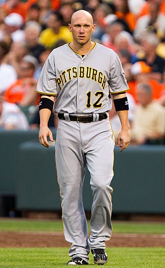 Clint Barmes - Barmes with the Pittsburgh Pirates in 2012
