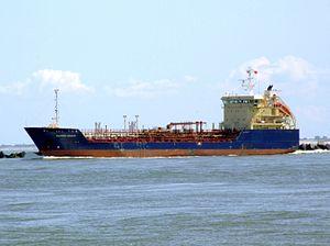 Clipper Nadja IMO 9122112 leaving Port of Rotterdam, Holland 08-Jul-2007.jpg