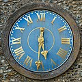 Clock, Church of St Peter and St Paul, East Harling.jpg