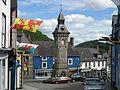 Clock Tower. Knighton - Tref-y-clawdd, Powys - Flickr - S. Rae.jpg