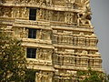 Close up of gopuram at vellore fort temple.JPG