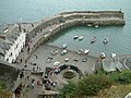 Clovelly, The Red Lion Hotel and the Harbour Wall - geograph.org.uk - 211436.jpg