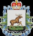 Coat of Arms of Cherdyn (Perm krai) (1997).png