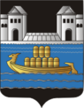 Coat of Arms of Davyd-Haradok, Belarus.png
