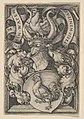 Coat of Arms with a Cock MET DP834271.jpg
