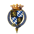 Coat of arms of Rupert, Count Palatine of the Rhine, KG.png