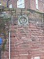 Coat of arms on the city walls near Bridgegate, Chester - geograph.org.uk - 1578031.jpg