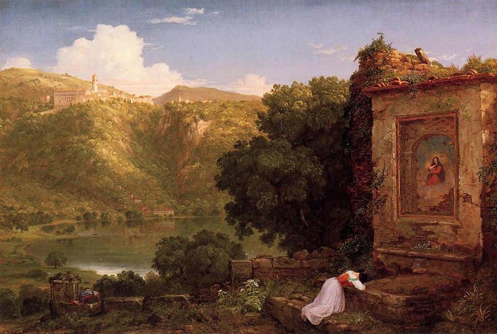 Cole Thomas Il Penseroso 1845