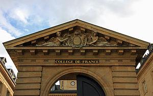 Jules Vuillemin - Collège de France (Paris, France).