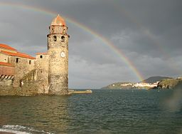 Collioure Regenbogen