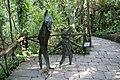 Collodi, Parco di Pinocchio, il gatto e la volpe 02.jpg
