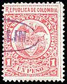 Colombia Antioquia 1890 Sc81 used.jpg