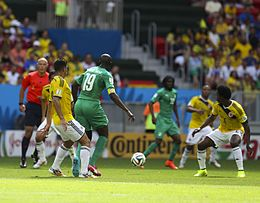 Colombia and Ivory Coast match at the FIFA World Cup 2014-06-19 (26).jpg
