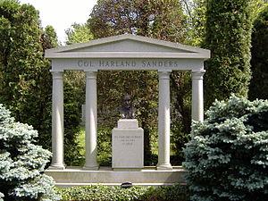 Colonel Sanders - Gravesite of Harland Sanders