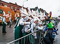 Colorado State University Marching Band, Colorado, USA - Getting Ready For The 2013 Patrick's Day Parade (8565848663).jpg