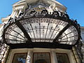 Comedy Theatre. Listed -8361. Glass roof. - Budapest.JPG